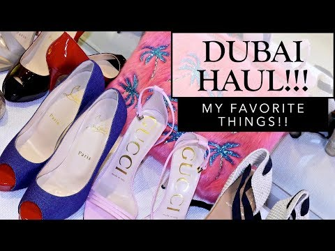 WHAT I GOT IN DUBAI!!! | Sonal Maherali