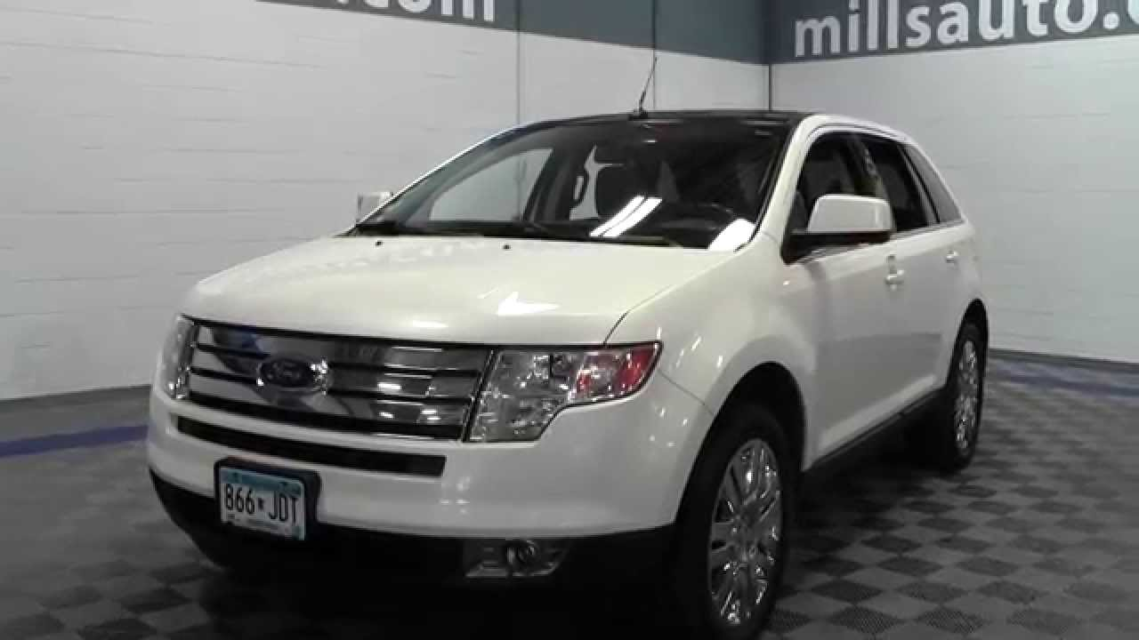 Ford Edge Limited >> 2008 Ford Edge Limited AWD 1F140844B - YouTube