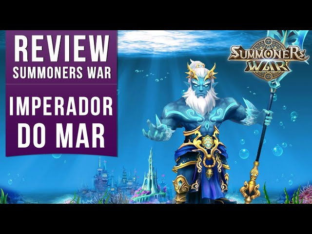 Review Imperador do Mar, Saiba Onde Usar e Como Runar - Summoners War