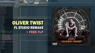 ArrDee - Oliver Twist (Instrumental) + Free FLP Remake