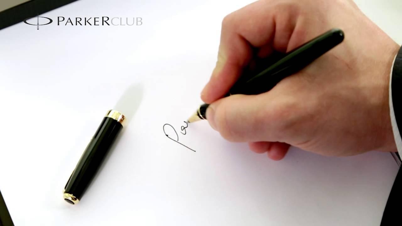 Лазерная гравировка на ручке Parker в McGraver.Ru - YouTube