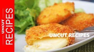 ☑️ Fried Mozzarella Cheese Recipe ( Mozzarella Sticks Alternative ) | Uncut Recipes