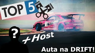 🏎 Top 5 🏎  Automobilů na DRIFT!  💲 do 100 000 Kč 💲+HOST!!