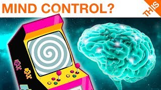 This Is the Mind Controlling Arcade Game...