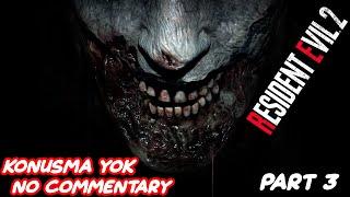 RESIDENT EVIL 2 REMAKE Gameplay Part 3 Claire Story No Commentary (KONUŞMA YOK)