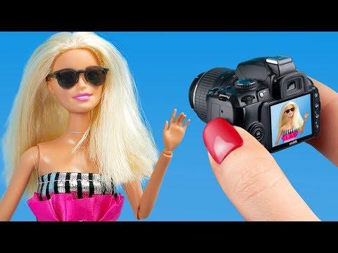 7 лайфхаков для куклы Барби / Фото лайфхаки для Барби - Видео онлайн