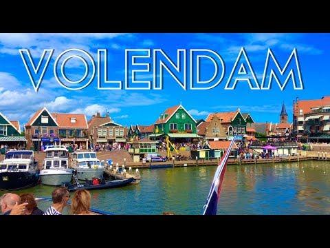 VOLENDAM - SHORT TOUR - 4K 2017 - TRAVEL GUIDE - NETHERLANDS