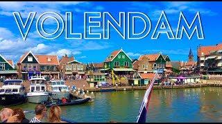VOLENDAM - SHORT TOUR  - TRAVEL GUIDE 4K - NETHERLANDS