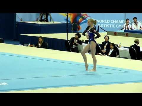Senn Jennifer SUI FX Qualification Worlds 2010