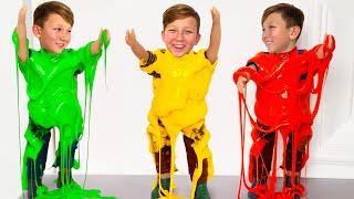 Сеня и цветные слаймы смотреть онлайн в хорошем качестве бесплатно - VIDEOOO