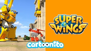 Super Wings | Bouncing Away | Cartoonito UK