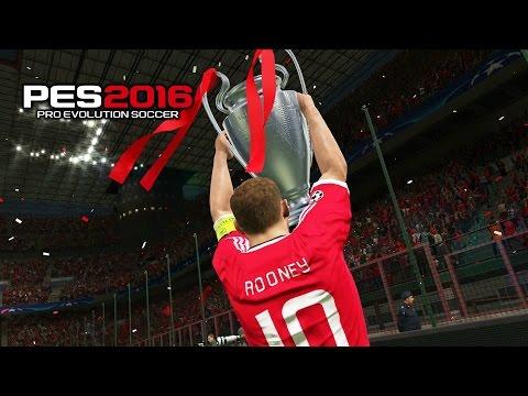 PES 2016 Final Champions League Barcelona Vs Manchester United 0-1 Full HD