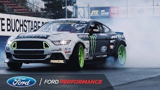 Vaughn Gittin Jr. Will Drift the Nurburgring in a Ford Mustang RTR | Ford Performance