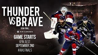 AIHL Finals - Semi-Final 2: Perth Thunder v CBR Brave