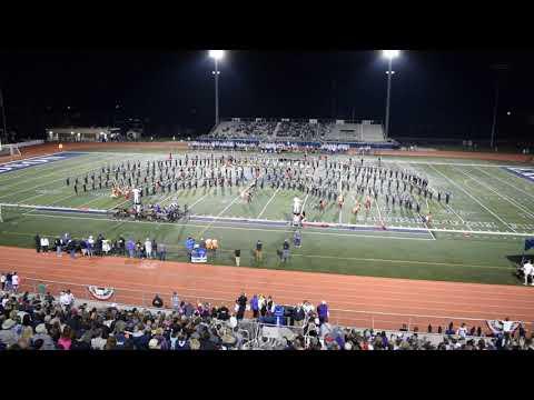North Royalton High School Marching Band Halftime Performance - Sep 28 2018