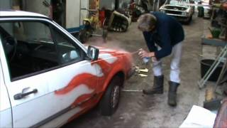 VW Polo got a paintjob