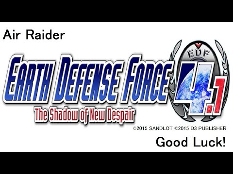 [Earth Defense Force 4.1]Calling For Support