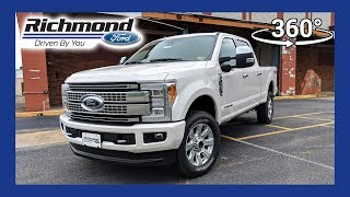 2018 Ford Super Duty Platinum 360 Degree Virtual Test Drive