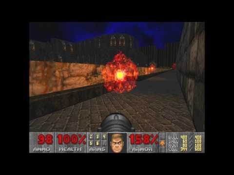 Doom 2 New Gothic Movement 2 Level 15 UV with 99.98% in 1:25:55