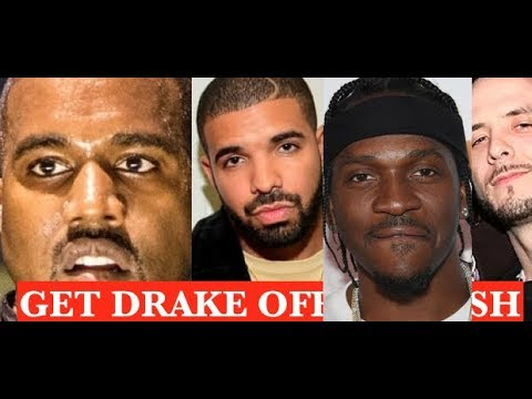 Kanye West SENT PUSHA T out on Media Run to Blame 40 For Leaking Drake info? LIES INFO BEEN OUT