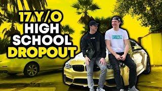 17 Y/O HIGH SCHOOL DROPOUT MAKING $50k/month (Hayden Bowles)