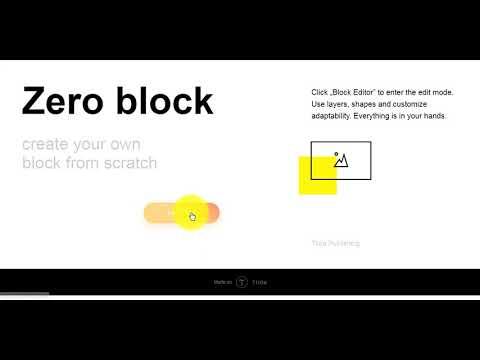 Делаем градиент на кнопке в Zero Block на Тильда