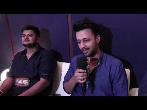 Atif Aslam's Jaane De | Behind the scenes Studio Recording & Interview