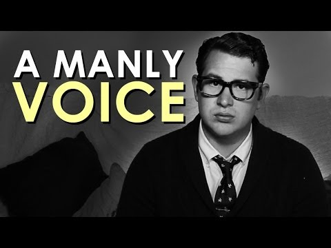 How to Make Your Voice Deeper | The Art of Manliness