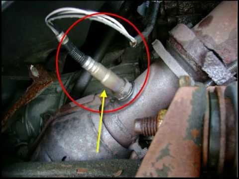 OXYGEN SENSOR CLEAN OR REPLACE تنظيف او استبدال الاوكسجين سنسور