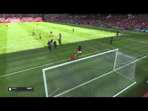 Marouane Fellaini tap in Vs Newcastle United F.C. #FIFA15