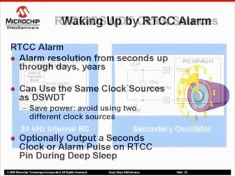 Microchip - Waking Up from Deep Sleep and Firmware Overview