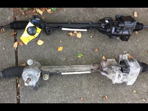 10-11 Fusion/Milan 2.5L/3.0L FWD Electric Rack and Pinion Replacement