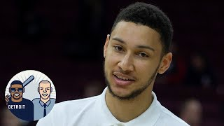Is Ben Simmons Sending LeBron James Secret Messages?   Jalen & Jacoby   ESPN
