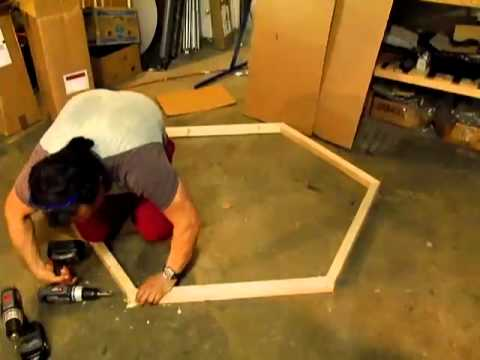 DIY WOODEN PET CAGE indoor K9 dog or cat pen