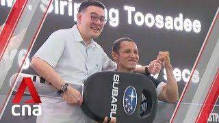 Thai contestant wins Last Palm Standing – Mediacorp Subaru Car Challenge