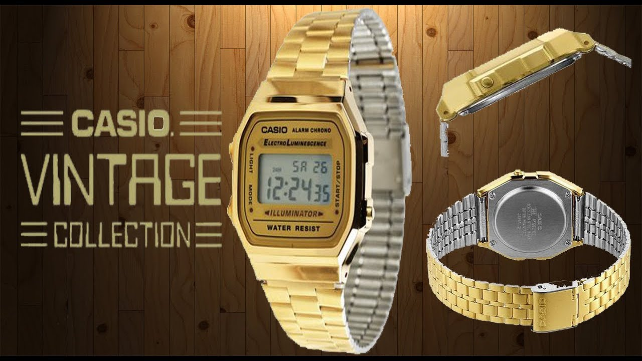 83a1564d911e RELOJ CASIO VINTAGE COLLECTION - YouTube