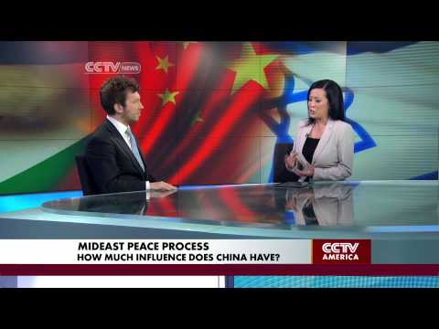 Andrew Small on China's Influence in the Middle East Peace Process
