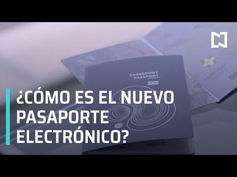 ¿Cómo es el nuevo pasaporte electrónico mexicano? - En Punto