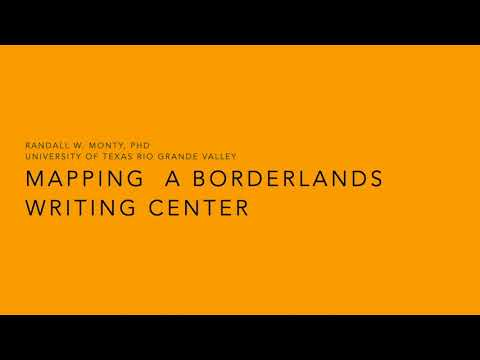 Mapping a Borderlands Writing Center