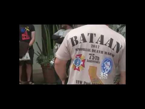 Bataan Death March Channel 5 KPIX TV