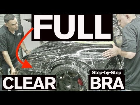 How to Install a FULL CLEAR BRA: AMMO 964
