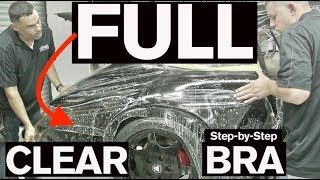 How to Install a FULL CLEAR BRA: AMMO Porsche 964