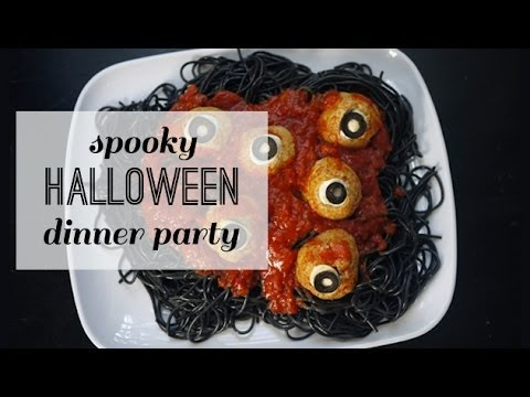 Fun Halloween Dinner Party Recipes for Kids - YouTube