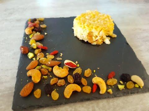 حلوى-بالروز،التفاح-و-الفواكه-الجافة-بنييينة-gâteau-au-riz-,-pommes-et-fruits-secs