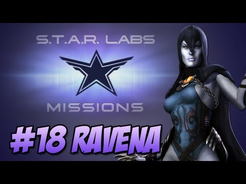 Star Labs #18 Raven - Injustice Gods Among Us