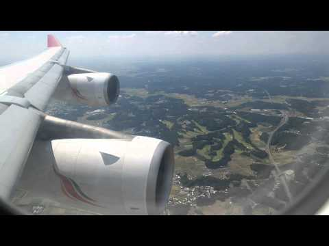 SriLankan Airlines A340-300 Landing at Tokyo Narita