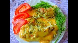 Готовлю Карпа в духовке под  сливочным соусом   Ну очень вкусно