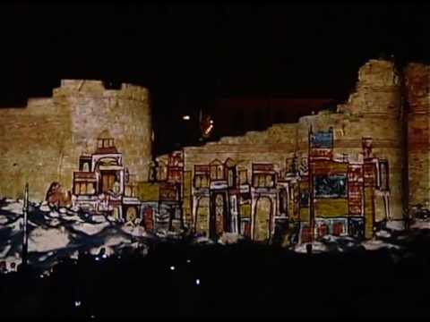 3D Mapping, Lights, Lasers and Fireworks Show at Nessebar