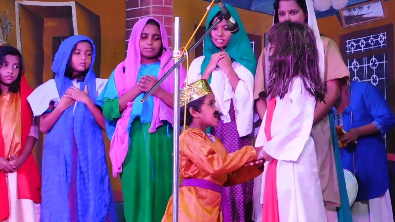 Malayalam christian comedy skit by kuttipattalam (children's)
