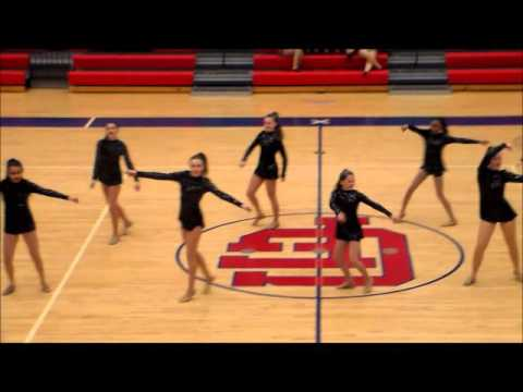 SPDT (Stone Panthers Dance Team) at Sweetheart 2016